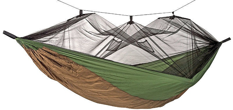 Amazonas Hammock Moskito Thermo Brown/Green