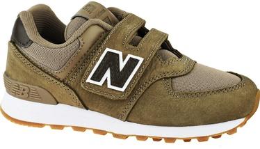 New Balance Kids Shoes YV574PRB Brown 34.5