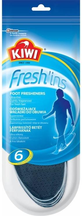 Kiwi Fresh'ins Men Insoles 6 Pairs 40-41