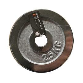 Diskinis svoris grifui LS2111, chromuotas, 2.5 kg