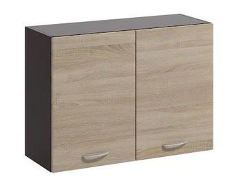 Ülemine köögikapp WIPMEB Livia LV-06/G80 Sonoma Oak, 800x285x575 mm