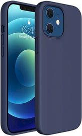 Fusion Elegance Fibre Back Case For Apple iPhone 12/12 Pro Blue