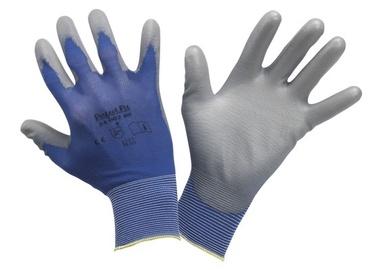 Work gloves Prof nitrile blue no. 8th