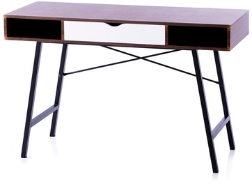 Homede Kayl Desk Espresso/Black