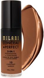 Тонирующий крем Milani Conceal + Perfect 13 Chestnut, 30 мл