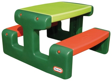 Žaidimų stalas Little Tikes Junior Picnic Table Evergreen