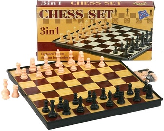Tommy Toys Chess Set 3-In-1