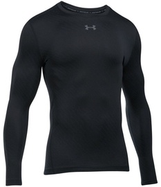 Under Armour Coldgear Armour Jacquard Crew 1301581-001 Black XL