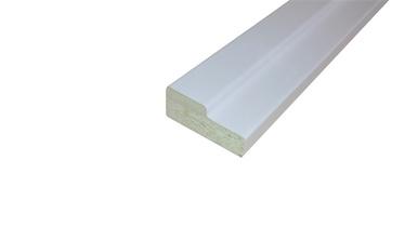 Durų stakta Monte, balta, 30 x 75 x 625 mm