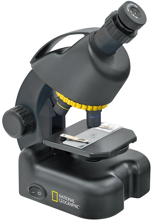National Geographic 40-640x Microscope + Smartphone Adapter