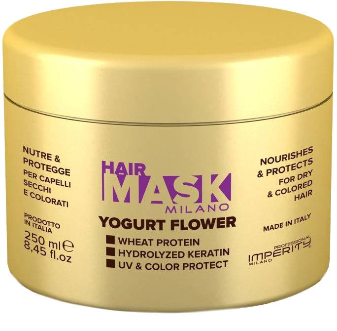 Matu maska Imperity Professional Milano Flower Yogurt, 250 ml