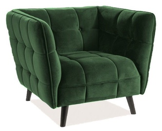 Кресло Signal Meble Castello Bluvel 78 Velvet Green, 92x85x78 см
