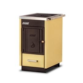 Kalvis Solid Fuel Boiler With Hob K-4CMN 8kW Yellow