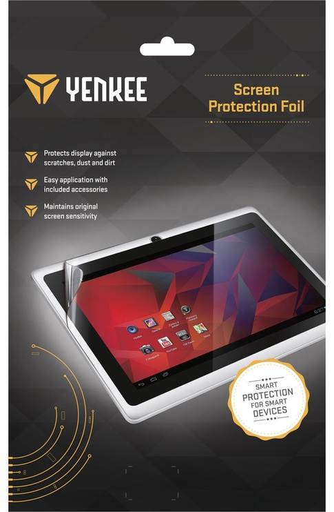 "Yenkee Screen Protection For 10.1"" Crystal Clear"