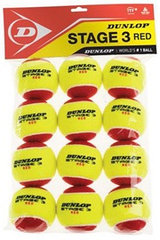 Dunlop Stage 3 Tennis Balls 12pcs