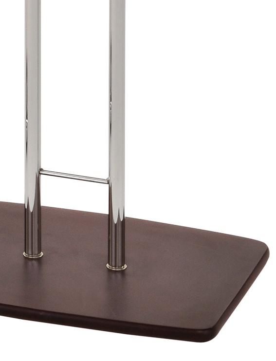Вешалка Giant GC4768, коричневый/серебристый/серый