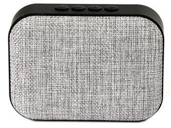 Belaidė kolonėlė Omega Bluetooth Wireless Speaker With FM Radio Light Grey