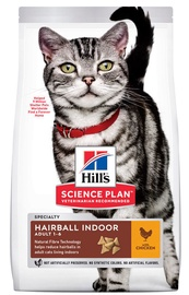 Hill's Science Plan Hairball Indoor Adult Cat Food 10kg