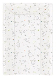 Ceba Baby Hard Changing Mat With A Bolster 50x70cm Dream Rollover White