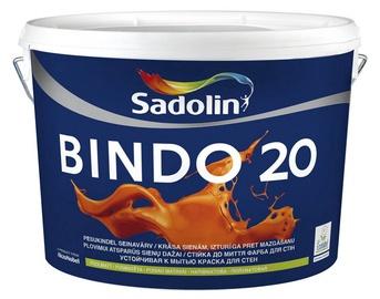 Seinavärv Sadolin Bindo 20, poolmatt, valge (BW) 10L