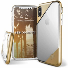 X-Doria Revel Lux Back Case For Apple iPhone X/XS Gold