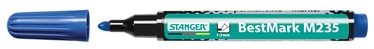 Stanger M235 BestMark Permanent Marker 1-3mm 10pcs Blue 712001