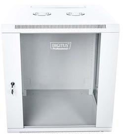 "Digitus Wallmount Cabinet 19"" 12U/600mm Grey"
