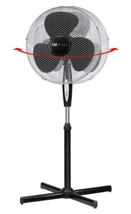 Clatronic VL 3741 FB Fan Black