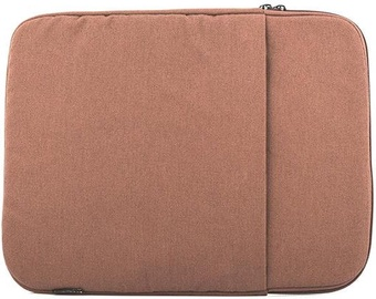 Logic Concept Plush Laptop Sleeve 12-14'' Brown