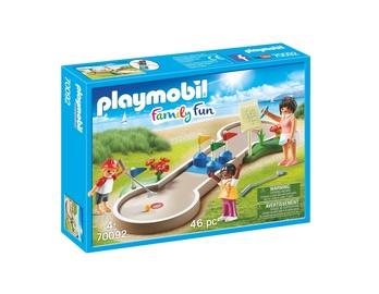 Konstruktorius Playmobil familyfun 70092 minigolf