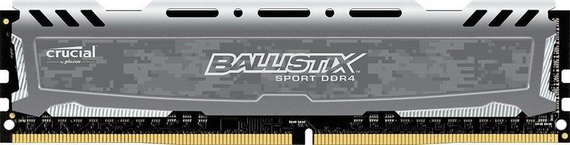 Crucial Ballistix Sport Gray 8GB CL16 2400MHz DDR4 BLS8G4D240FSBK