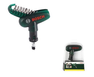 Bosch Screwdriver With Bit Set 10pcs