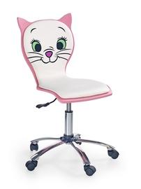 Halmar Chair Kitty 2 White/Pink
