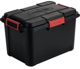 Curver Outback Box With Lid 60l Black Red