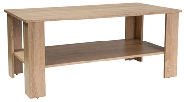 Kafijas galdiņš Signal Meble Modern Ariel Sonoma Oak, 1100x600x500 mm