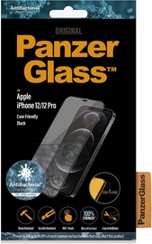 PanzerGlass Rounded Edges Glass For Apple iPhone 12/12 Pro Black