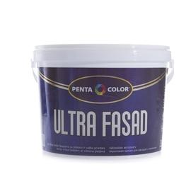 Fasado dažai Pentacolor Ultra Fasad, balti, 3 l