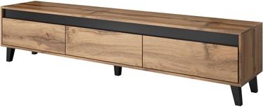 TV galds Cama Meble Nord, pelēka, 1850x380x420 mm