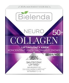 Bielenda Neuro Collagen Lifting Anti-Wrinkle Cream-Concentrate 50+ Day/Night 50ml