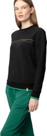 Audimas Womens Cotton Sweatshirt Black S