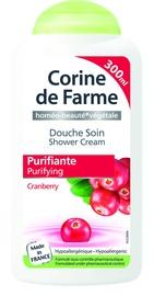 Corine de Farme Shower Cream 300ml Cranberry