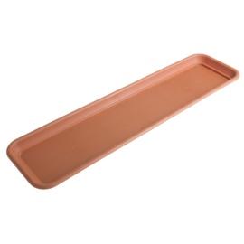 Lamela Pot Plate 57x16cm Brown