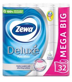 Tualetinis popierius Zewa Deluxe Pure White, 32 vnt.