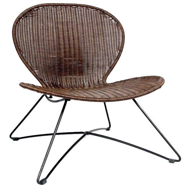 Halmar Troy Garden Chair Brown