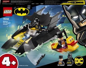 Конструктор LEGO DC Погоня за Пингвином на Бэткатере 76158, 54 шт.