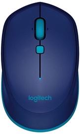 Kompiuterio pelė Logitech M535 Blue, bevielė, optinė