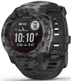 Garmin Instinct Solar Edition Graphite Camo