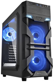 Sharkoon VG7 Window Mid-Tower Blue