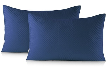DecoKing Messli Pillowcase Denim Blue 50x70 2pcs