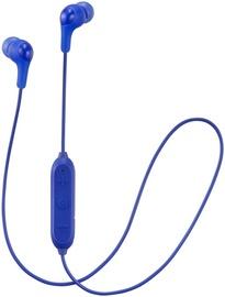 Ausinės JVC HA-FX9BT Blue, belaidės